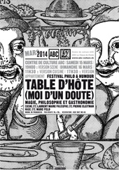 Affiche du spectacle Table d'hôte